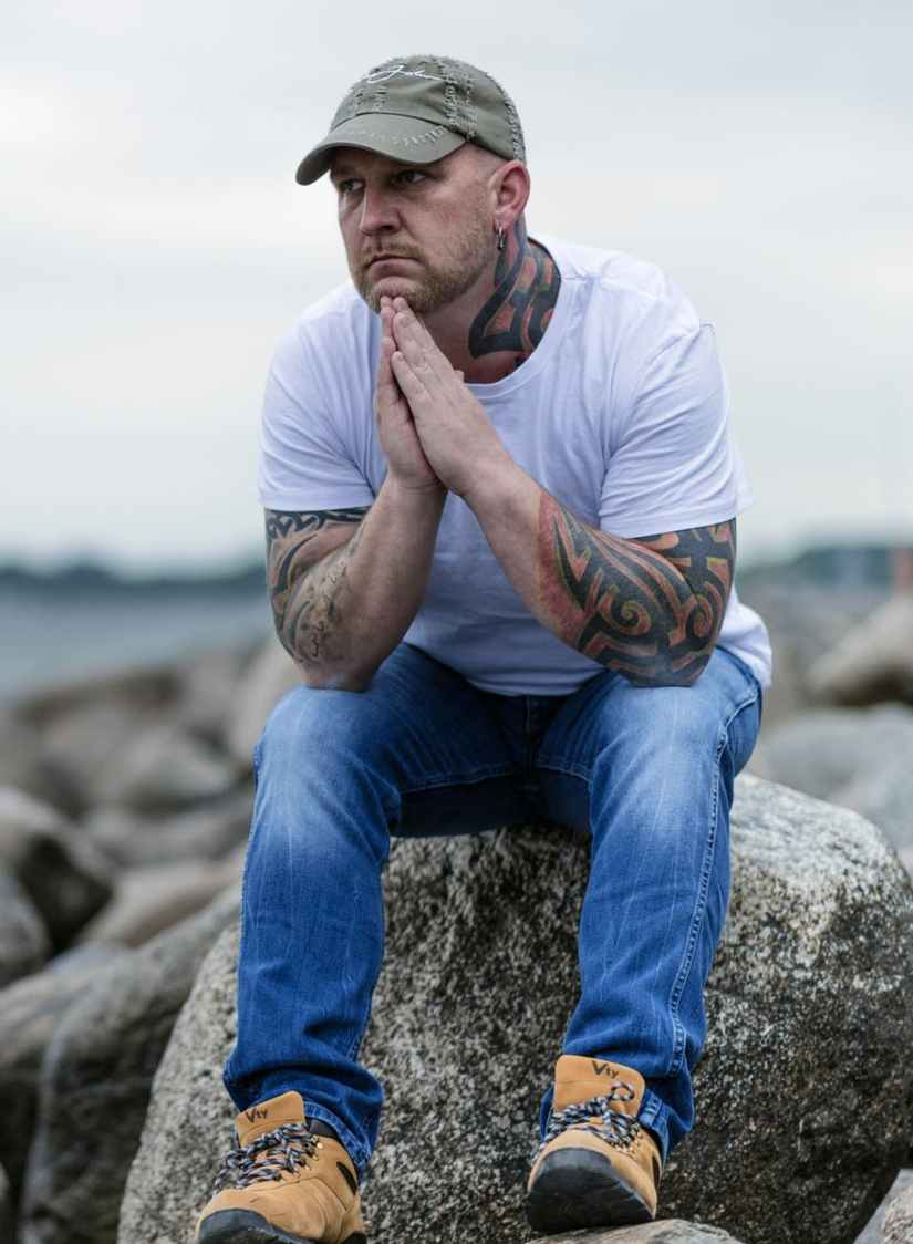 beach depression sad tattoo